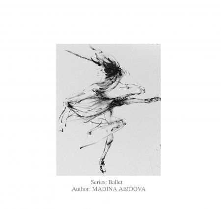 Выставка графики Абидовой Мадины «Ballet fine lines by MADINA»