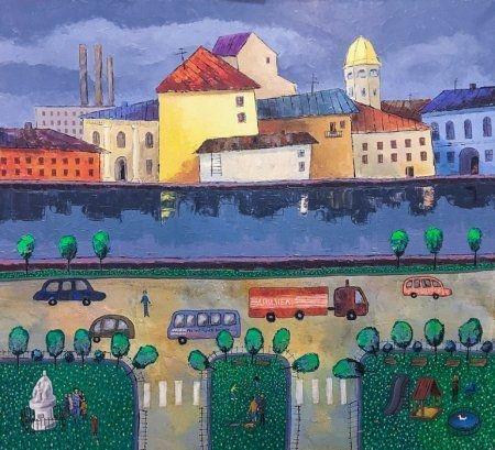 Выставка Дмитрия Исавнина «Линия наива»