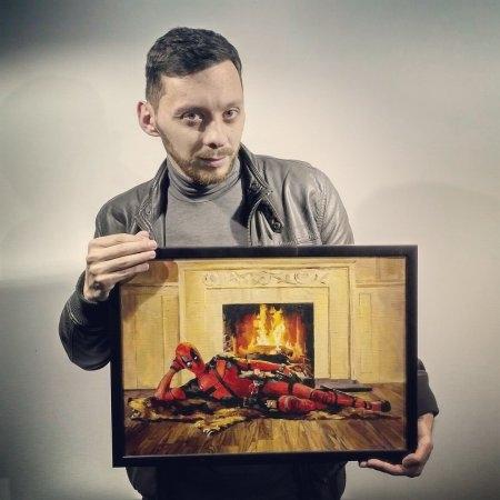Выставка живописи «Пиксель в рамке»