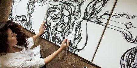 Выставка живописи и графики Марии Мусиенко «Монада»