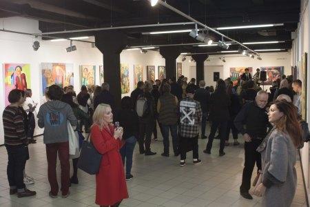 """Открытие выставки Дмитрия Стрижова """"Герои"""""""