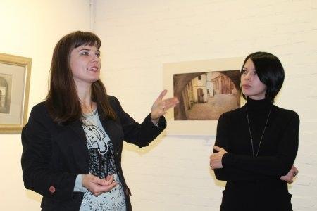 Открытие выставки Алены Пахомовой «Туда, где нас нет».