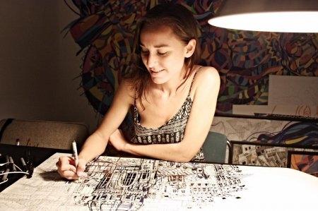 Говорим о технике графики с Марией Сусаренко