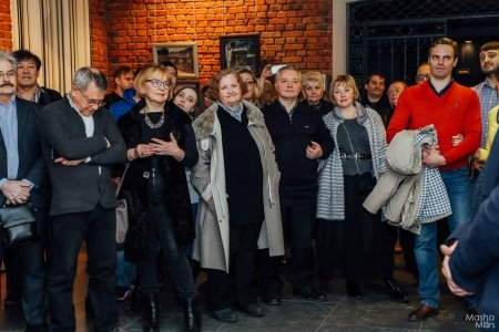 """Вернисаж Анатолия Лобынцева """"Прогулки по моему городу"""""""