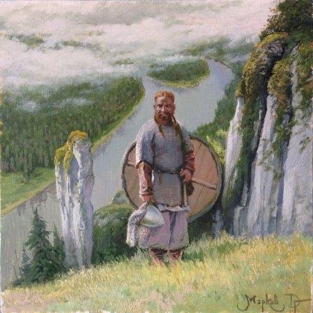 Вернисаж выставки Дмитрия Маркова «Ступени времени. Из прошлого в настоящее»