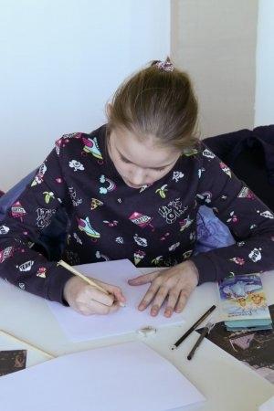Артмуза детям! Мастер-класс по графике 14 апреля