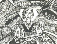 Вернисаж выставки Елены Старовой «В поисках красоты»
