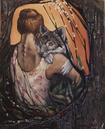 Вернисаж выставки Кристины Верес «Про чувства»
