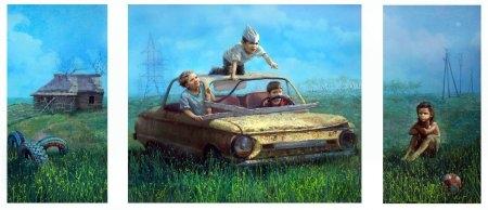 Выставка Андрея Шатилова «Истории»