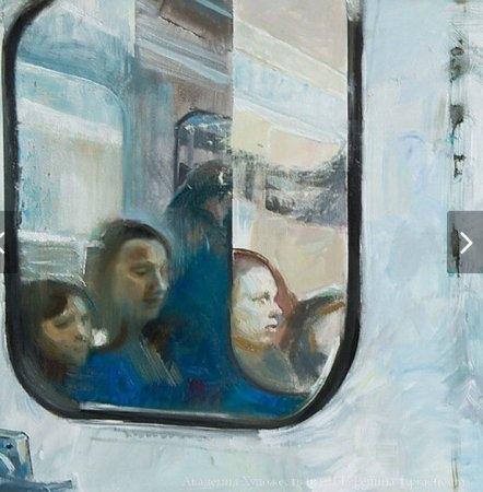 Вернисаж выставки живописи и рельефа «Среда»