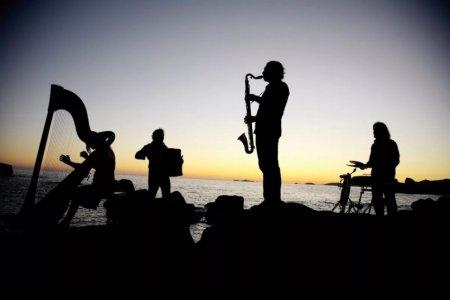 Саксофонный концерт на крыше