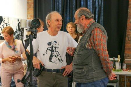 """Вернисаж выставки """"Магия движения"""" Виктора Борисова"""