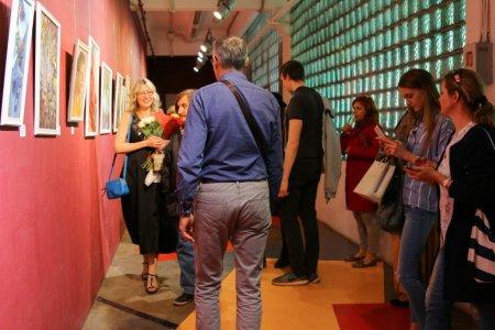 Вернисаж выставки Евгении Кондратьевой
