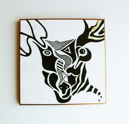 Таня Руфи, «Черное и Белое». Выставка графики.