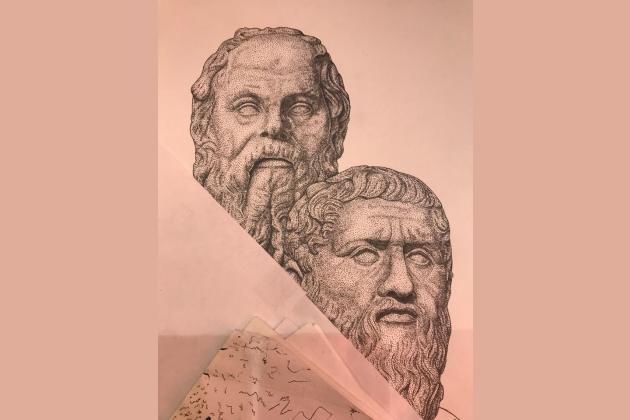 Выставка графики Руслана Борисенко/Maybe_Rus «Путь к цели»