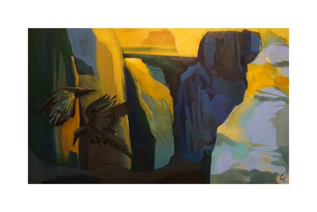 Выставка графики, живописи, коллажа и гобелена Оксаны Шуайбовой
