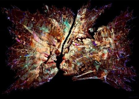 Выставка компьютерной графики художника Алесь Лялюш «FACES»