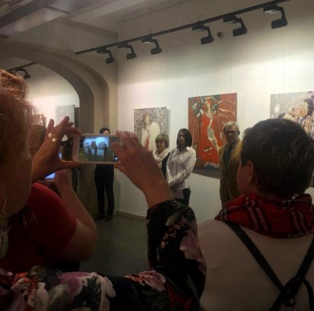 Вернисаж выставки «Ретроспектива» художника Виктора Ануфриева