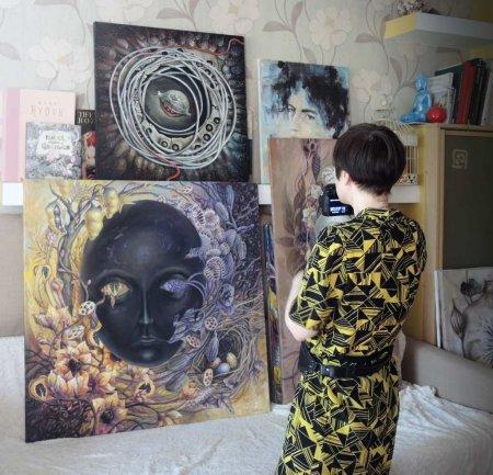Выставка живописи Альбины Буниной «Темная сторона сада»
