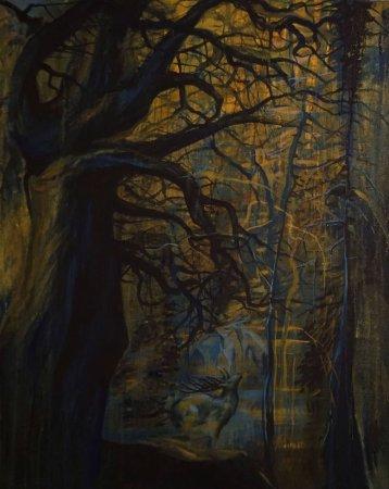 """Выставка графики, живописи, коллажа и гобелена Оксаны Шуайбовой """"Градации"""""""
