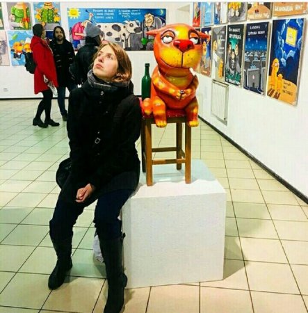 """Вернисаж выставки Васи Ложкина """"ЖЫзнь - весёлый карнавал"""""""