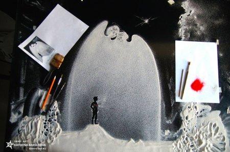 Песочная анимация Катерины Барсуковой