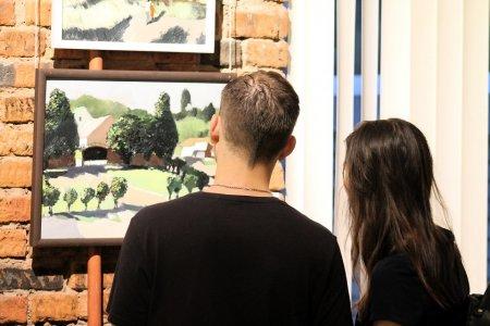 Вернисаж выставки живописи «Пятый день недели» художника Артёма Новосёлова (г. Уфа)
