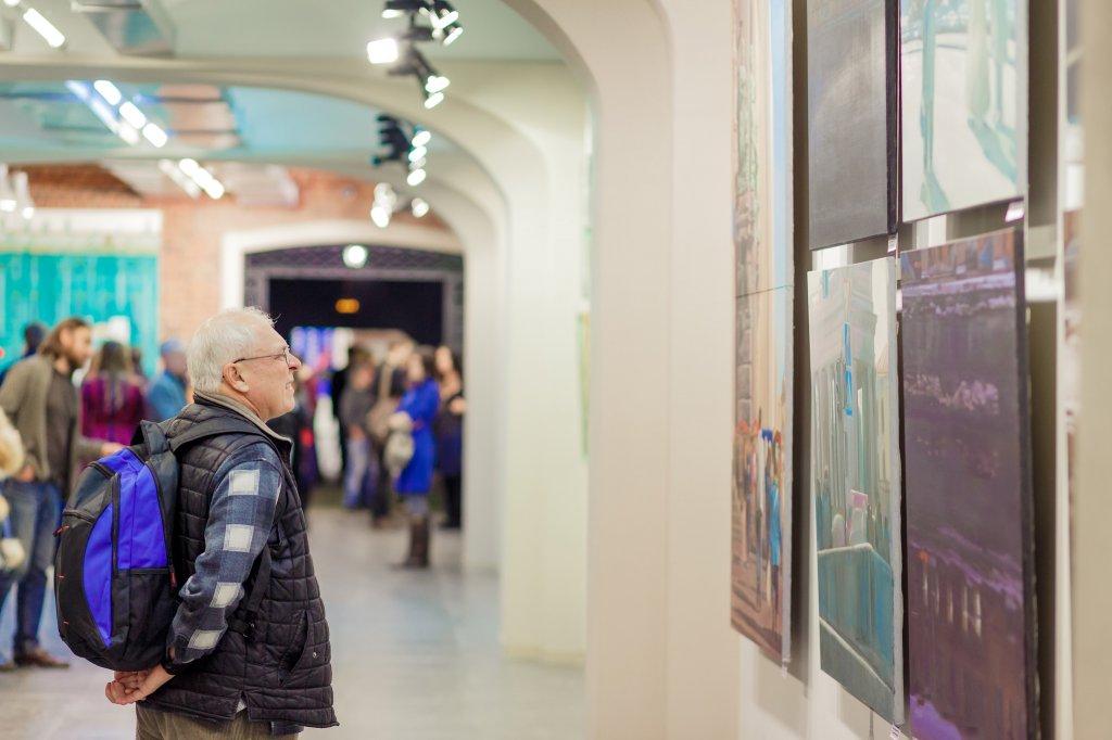 Итоговая выставка пятого конкурса молодых художников «Муза должна работать»