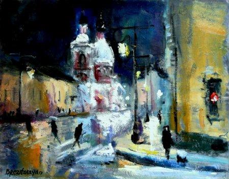 Выставка живописи Светланы Брезицкой «Впечатления о любимом городе»