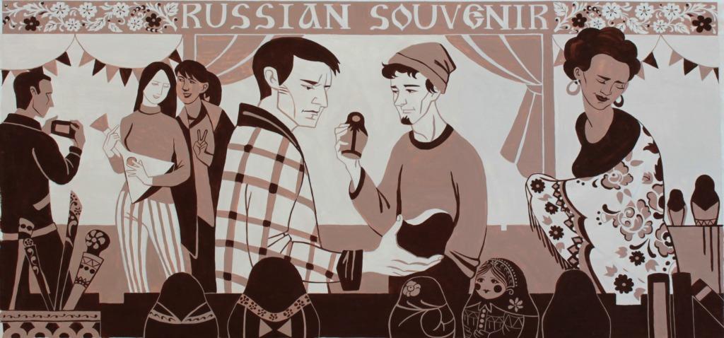 Выставка живописи и графики студентов СПбГУПТД  «Проба пера»