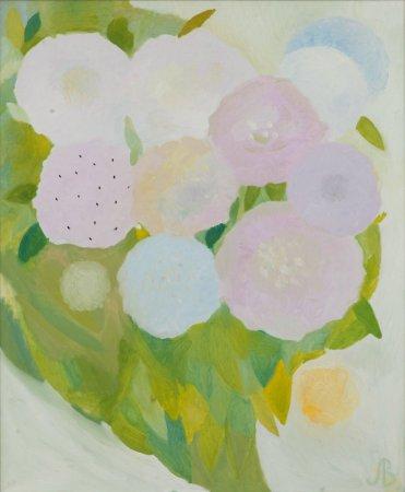 Выставка работ Творческой мастерской Валерии Лошак  «Цветы и птицы»