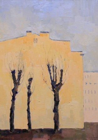 Выставка живописи Ольги Шинкаревой и Андрея Ефи  «Светлые времена»