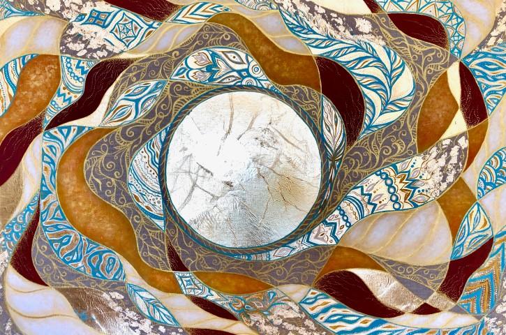 Выставка живописи Анастасии Яблоковой «Энергия Солнца»