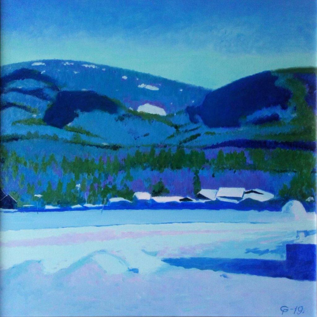 Выставка живописи Петра Гамаюнова «Ещё о Байкале»