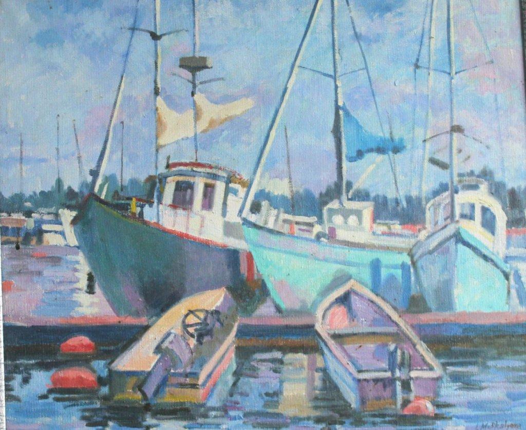 Выставка живописи Ирины Москалевой «Созерцать. Восхищаться. Творить»